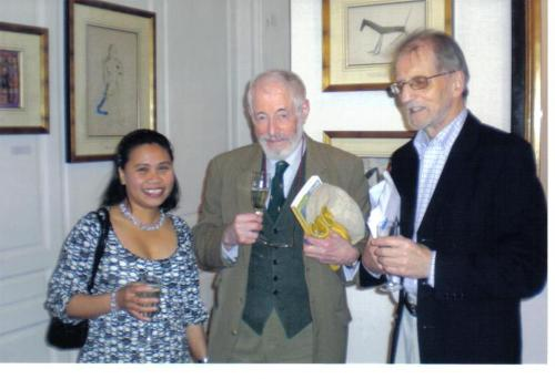 With JP Donleavy