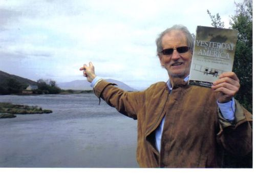 """They landed over there!"" Brendan Lynch brings his new book back to Connemara."